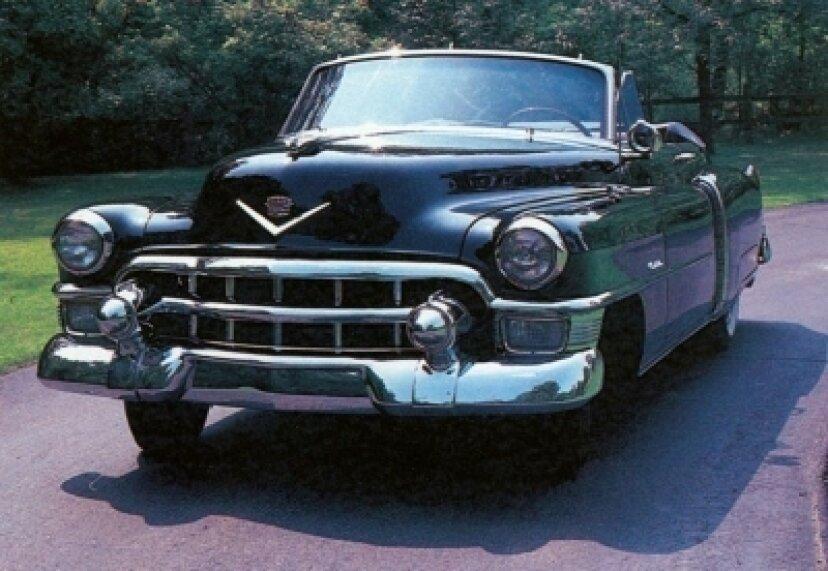 1953年キャデラックシリーズ62コンバーチブル