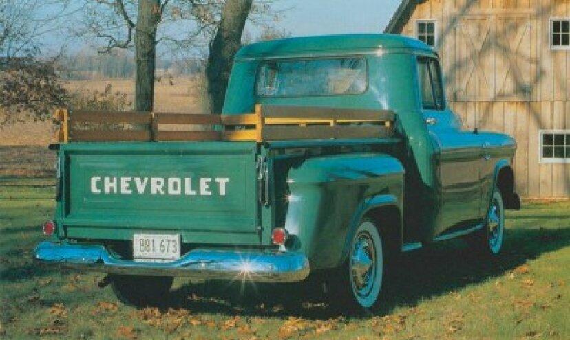 1955-1956シボレーシリーズ3100ピックアップ