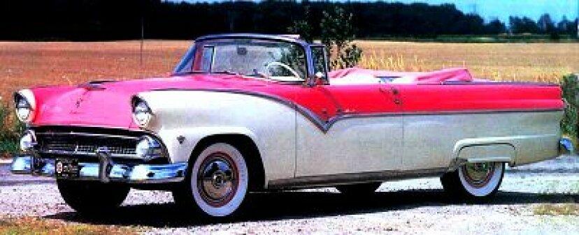 1955年フォードフェアレーンサンライナーコンバーチブル