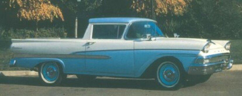 1957-1958フォードランチェロとクーリエ