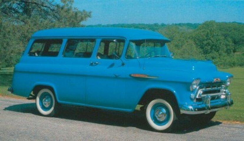 1957シボレー3106/3116サバーバンキャリーオール