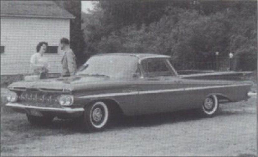 1959-1960シボレーエルカミノ入門