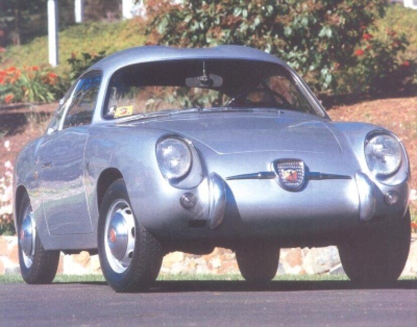 1959年フィアットアバルト750ザガートクーペ