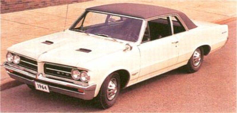 1964-1965ポンティアックGTO