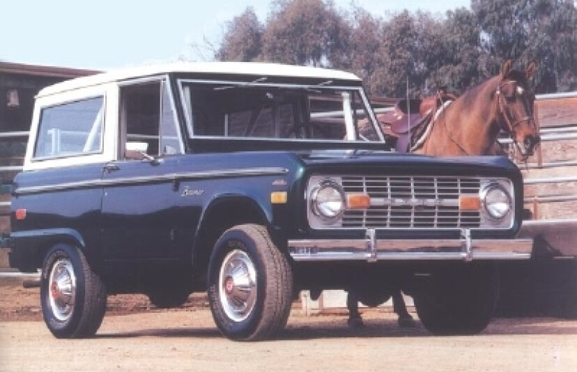1966-1977年のフォードブロンコの紹介