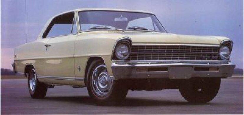 1967シボレーシボレーIIノヴァSS:マッスルカーのプロフィール