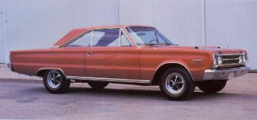 1967年プリマスベルヴェデーレGTX:マッスルカーのプロフィール