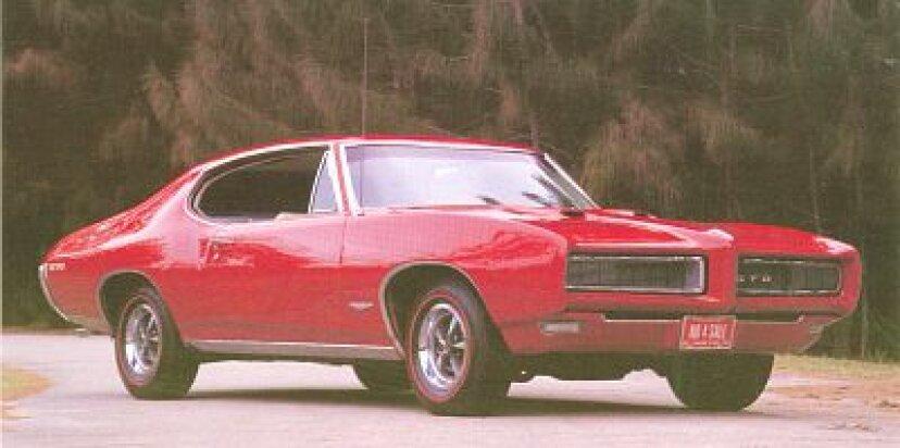 1968-1969ポンティアックGTO&ジャッジ