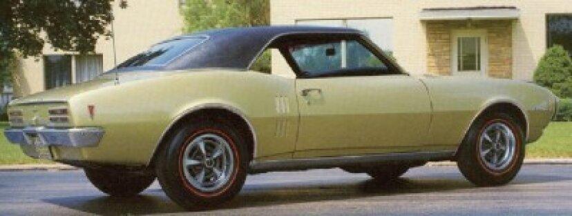 1968年ポンティアックファイヤーバード350