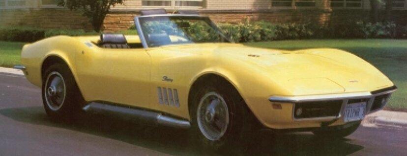 1969シボレーコルベット427