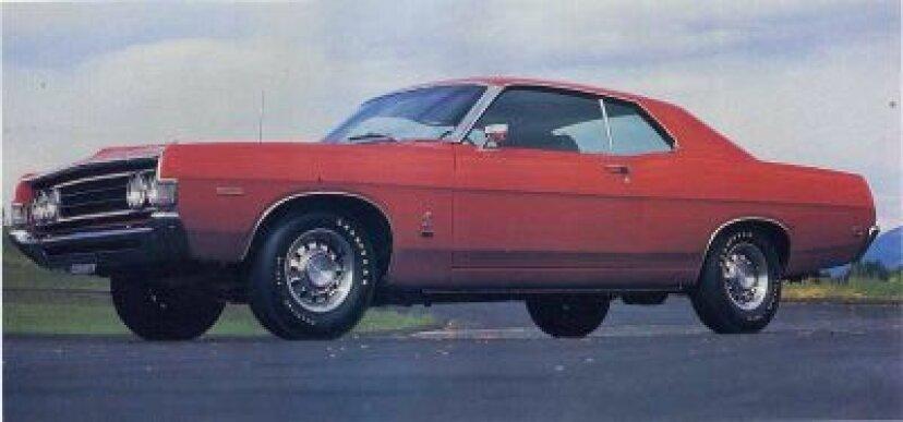 1969年フォードフェアレーンコブラ428