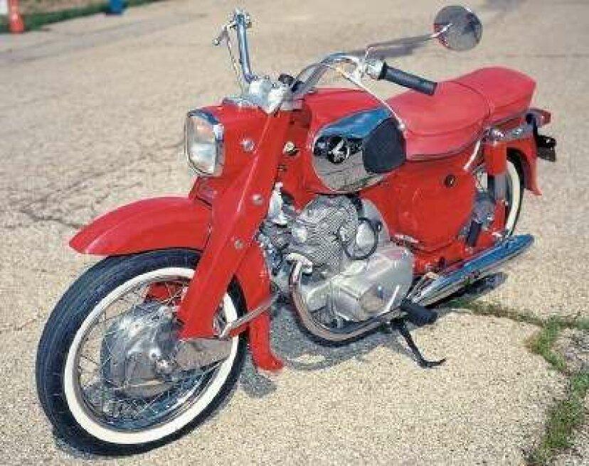 1969ホンダドリーム305