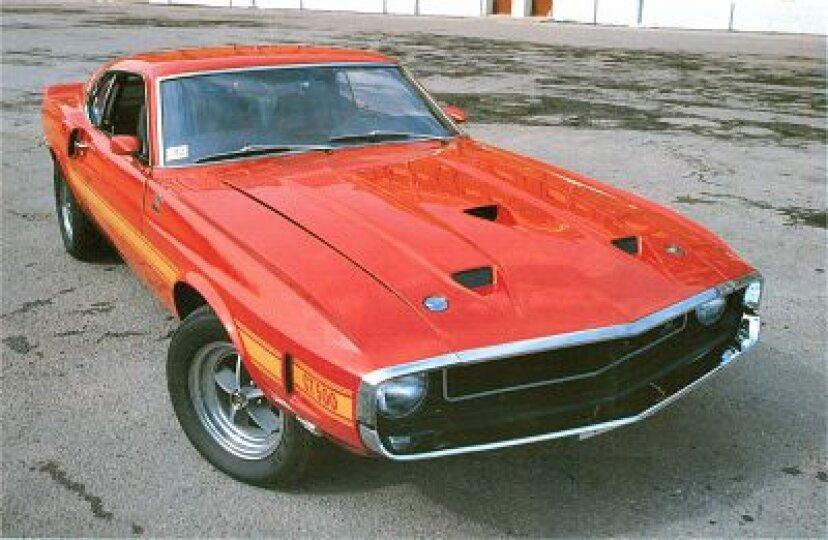 1969シェルビーGT-350&GT-500