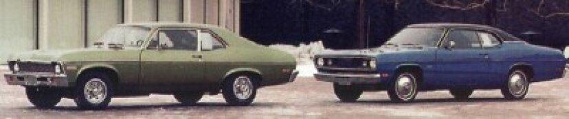 1970、1971、1972、1973、1974、1975、1976プリマスダスター