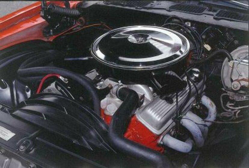 クラシックシボレーエンジン