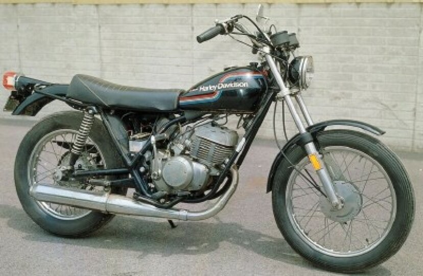 1975ハーレーダビッドソンSS-250