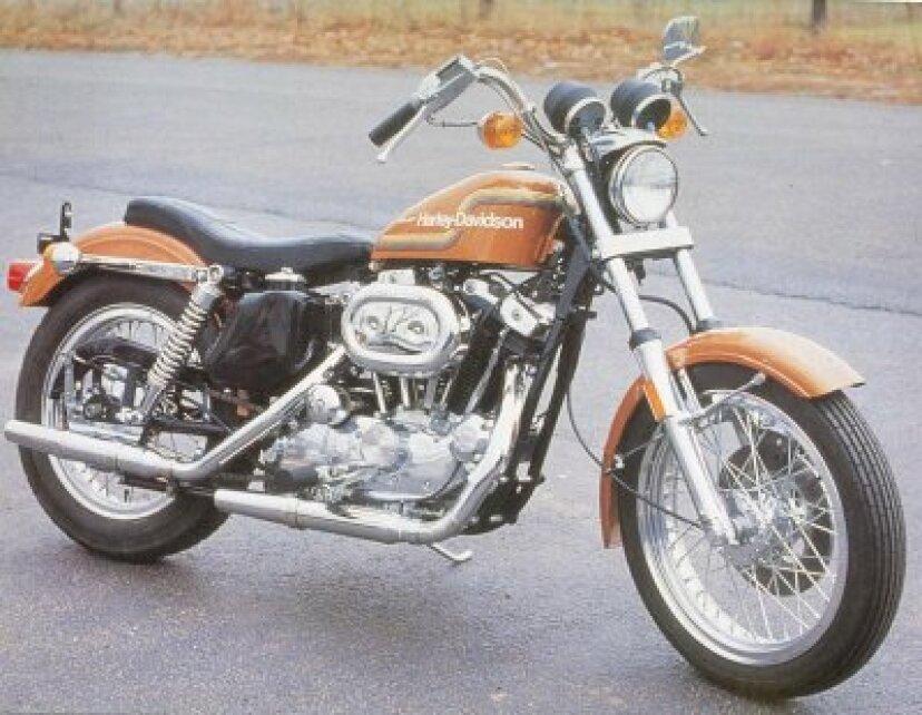 1975ハーレーダビッドソンXL-1000およびXR-750