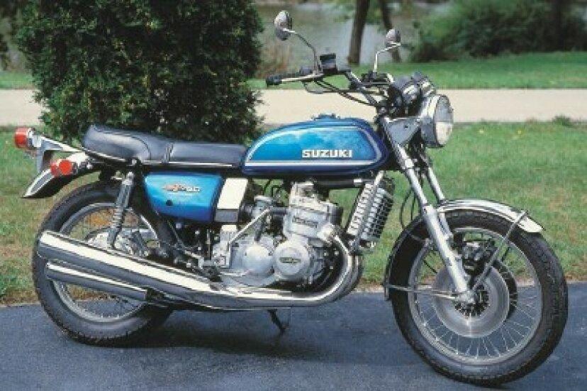1975スズキGT750