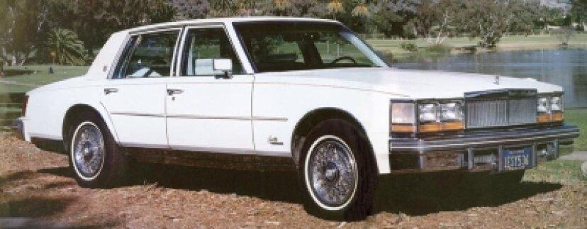 1976、1977、1978、1979キャデラックセビル