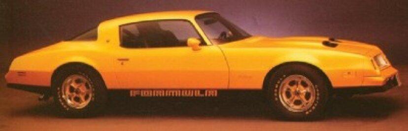 1976ポンティアックファイヤーバードフォーミュラ