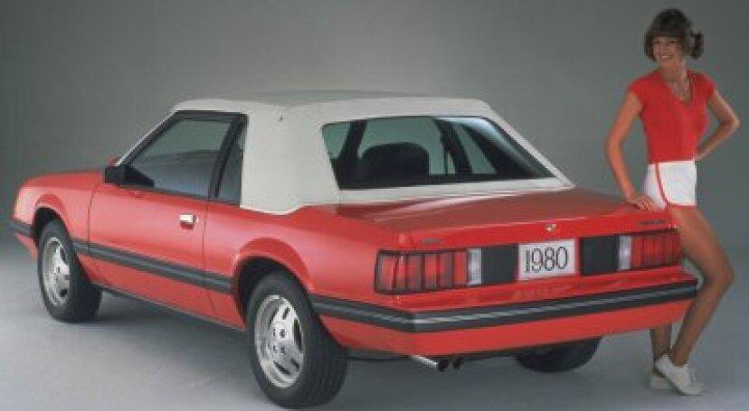 1979、1980、1981フォードマスタング