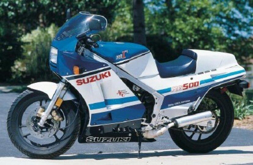 1986スズキRG500ガンマ