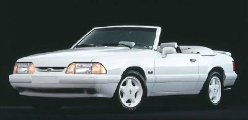 1987、1988、1989、1990、1991、1992、1993フォードマスタングの概要
