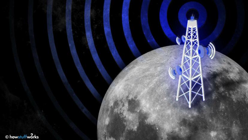 4G en la Luna? ¿Eso también significa torres celulares?