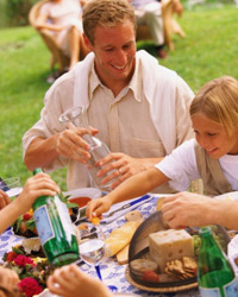 夏の10のノークックディナー