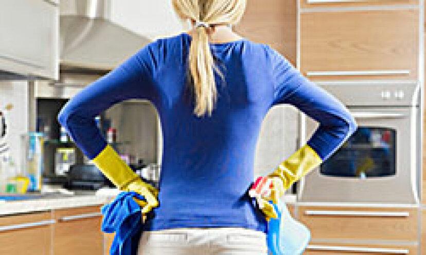 キッチンの5つのスピードクリーニングのヒント