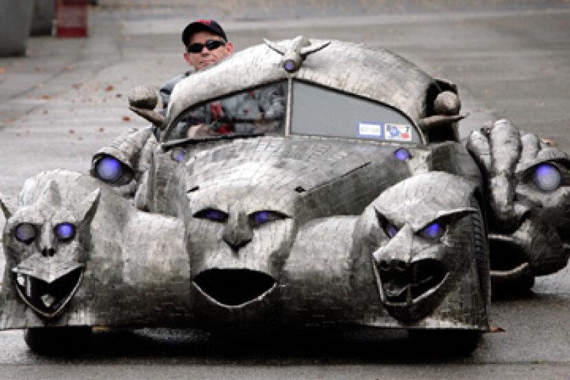 これまでに作られた5つの奇妙な車