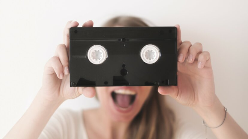 vhs technology cassette