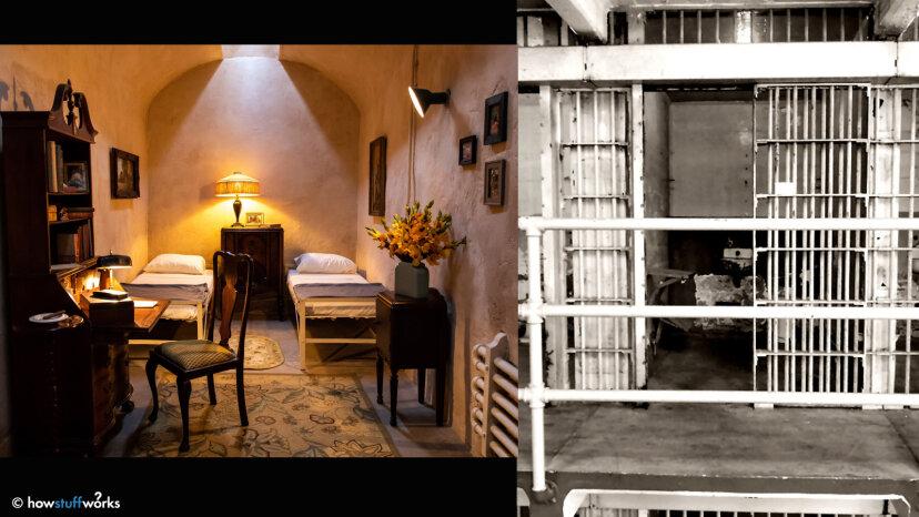 Al Capone's prison cells