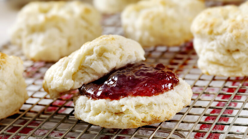 biscuits and jam