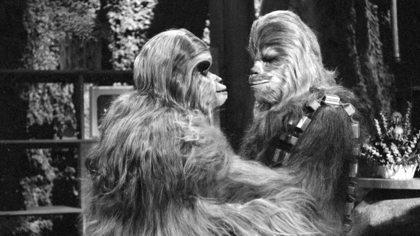 Chewbacca and his dad