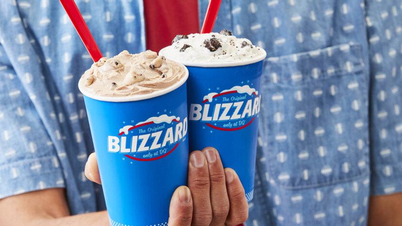 デイリークイーンからの冷凍おやつ?本当にアイスクリームではない