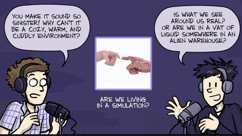 宇宙は単なるシミュレーションですか?