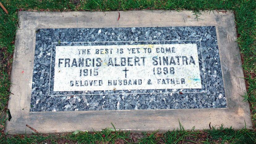Frank Sinatra Headstone