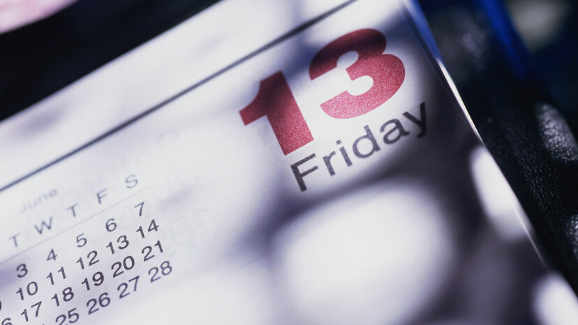 Friday The 13th Calendar Page