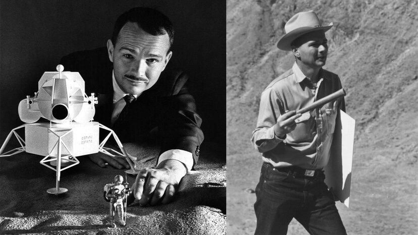 Eugene Shoemaker: el único humano enterrado en la luna