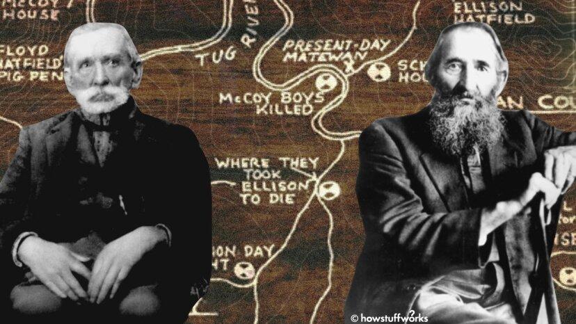 ¿Qué impulsó la famosa disputa entre los Hatfield y los McCoys?