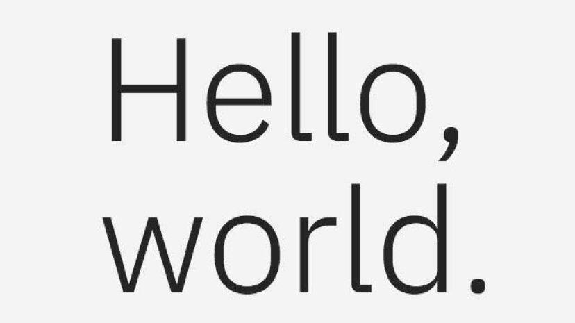 IBMは独自の特注書体を発表しました