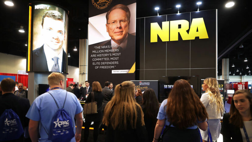 NRA booth, CPAC