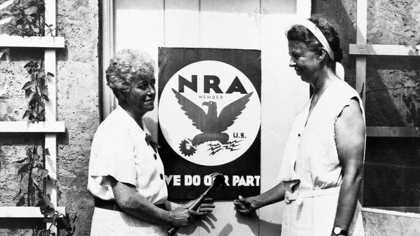 Eleanor Roosevelt, NRA