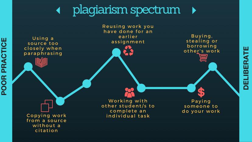 plagiarism spectrum scale