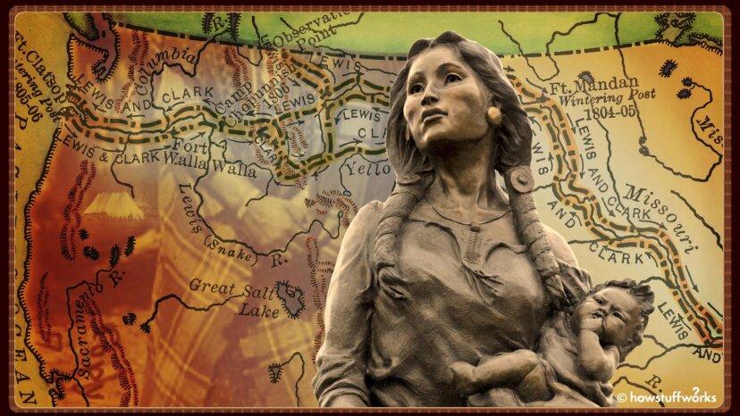 Wie ein jugendlicher Sacagawea die Lewis- und Clark-Expedition in die Unsterblichkeit führte