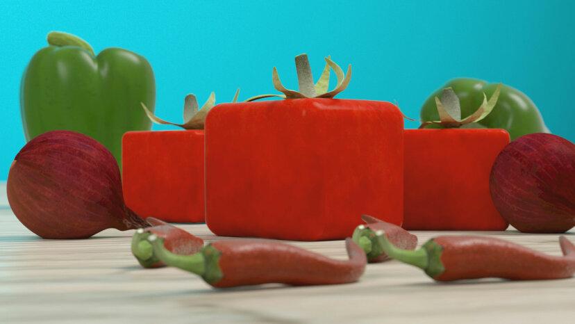 四角い野菜を見たことがないのはなぜですか?