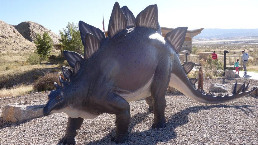 Stegosaurus: cuerpo como un autobús, pequeño cerebro