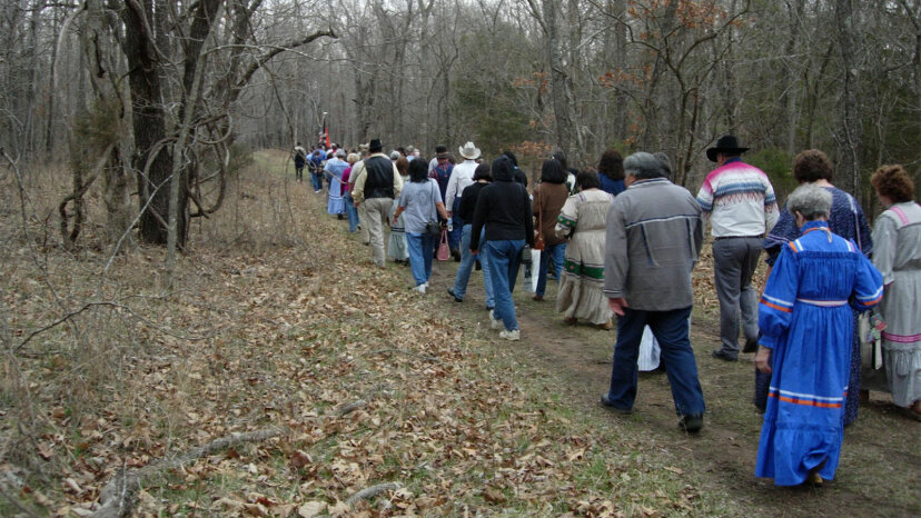 Cherokee Retracement at Pea Ridge National Military Park, Garfield, Arkansas