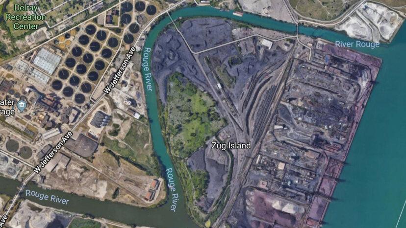 Was ist los mit Detroits mysteriöser Zug-Insel?
